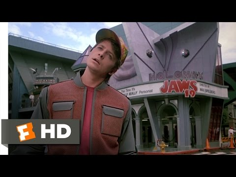Back to the Future Part 2 (2/12) Movie CLIP - Hill Valley, 2015 (1989) HD, Back to the Future Part 2 Movie Clip - watch all clips http://j.mp/zWrk0s click to subscribe http://j.mp/sNDUs5 Marty (Michael J. Fox) surveys the Hill Valle...