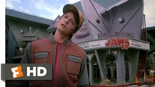 Back To The Future Part 2 (2/12) Movie CLIP Hill Valley