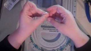Video #21 How To Make A Beaded Lanyard ID Badge