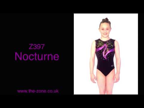 Nocturne Sleeveless Gymnastics Leotard