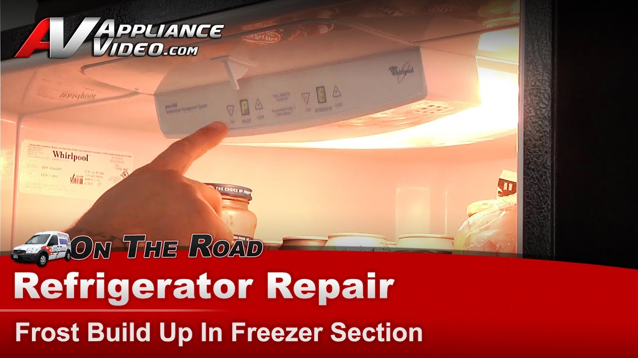 Whirlpool Maytag Kitchen Aid Refrigerator Repair Frost