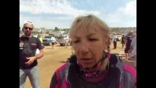 Camelia Liparoti, al traguardo della Dakar 2014