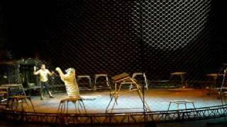 Ringling Bros. Tiger  Scene