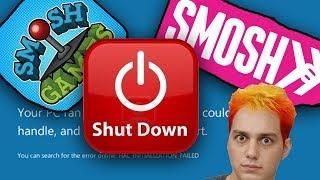 Smosh and Smosh Games Shut Down? Lasercorn Reacts