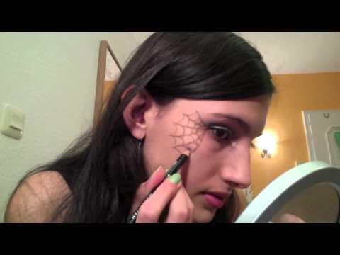 Einfaches Hexen-makeup