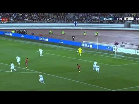 Álvaro Negredo Goal + Jesús Navas Assist ● Alba Goal + All Highlights ● Finland vs Spain 0 - 2