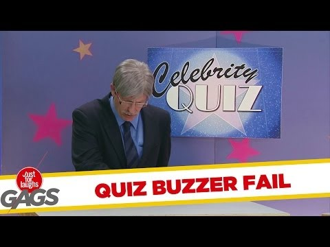 Celebrity Quiz Buzzer Fail Prank  YouTube