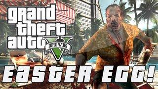 "Grand Theft Auto 5 Dead Island ""Rehab Island"" Easter Egg"