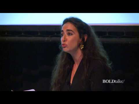 Times Of War Through The Eyes of Arab Female Journalist - Jenan Moussa - BOLDtalks Woman 2014