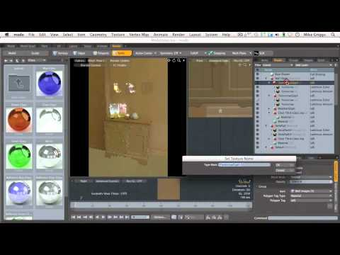 (5 of 5) Add detail using projection mapping in modo
