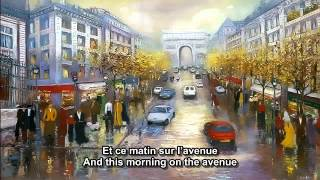 Les Champs-Elysees Joe Dassin French And English