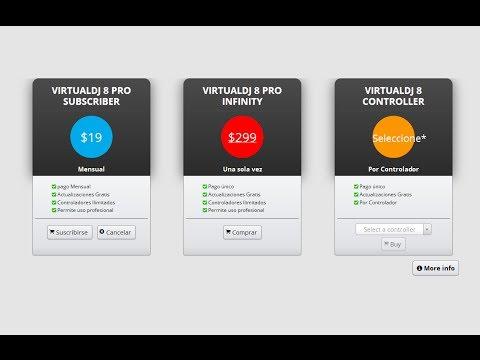 Licencias de Virtual DJ 8