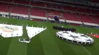 UEFA Champions League Final 2014 Opening Ceremony Lisbon