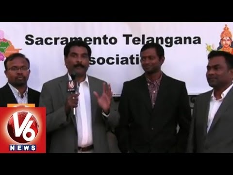 Celebrations for new state Telangana Formation in US