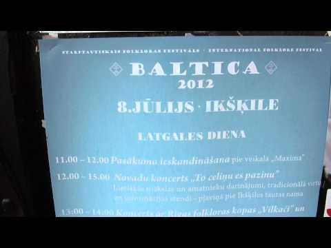 Festivāla BALTIKA 2012 koncerts 'To celiņu es pazinu' pie Ikšķiles tautas nama - 00589