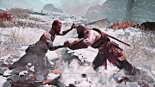 God of War - Kratos Fighting