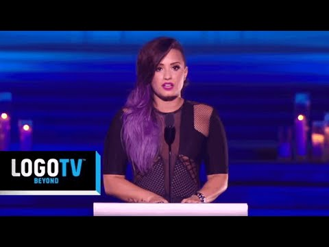 Demi Lovato Credits Gay Grandfather For Her Spirit - Trailblazers - LogoTV