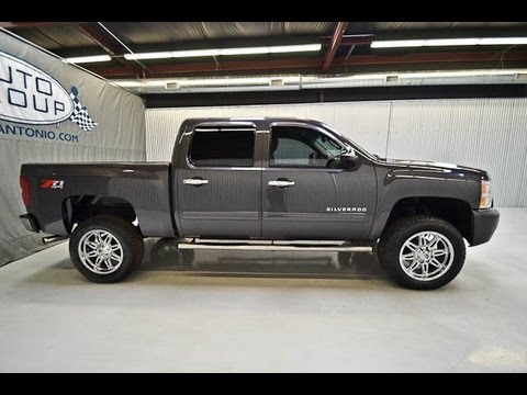 2011 chevy silverado 1500 crew cab lt z71 lifted truck for sale youtube. Black Bedroom Furniture Sets. Home Design Ideas