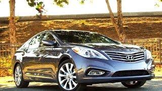 2012 Hyundai Azera Video Review - Kelley Blue Book videos