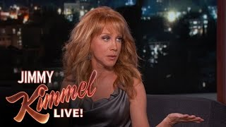 Kathy Griffin's Mom Hates Jimmy Kimmel Because Britney Spears is Fragile