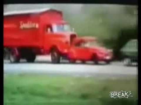 Hodně drsný Crash test!