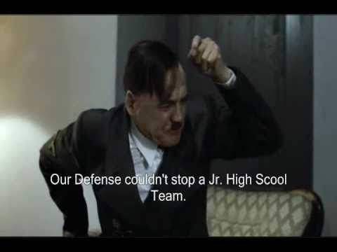 Hitler Rants about the Cleveland Browns Roster