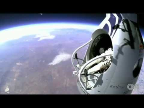 Watch Felix Baumgartner jump from 96,000 feet