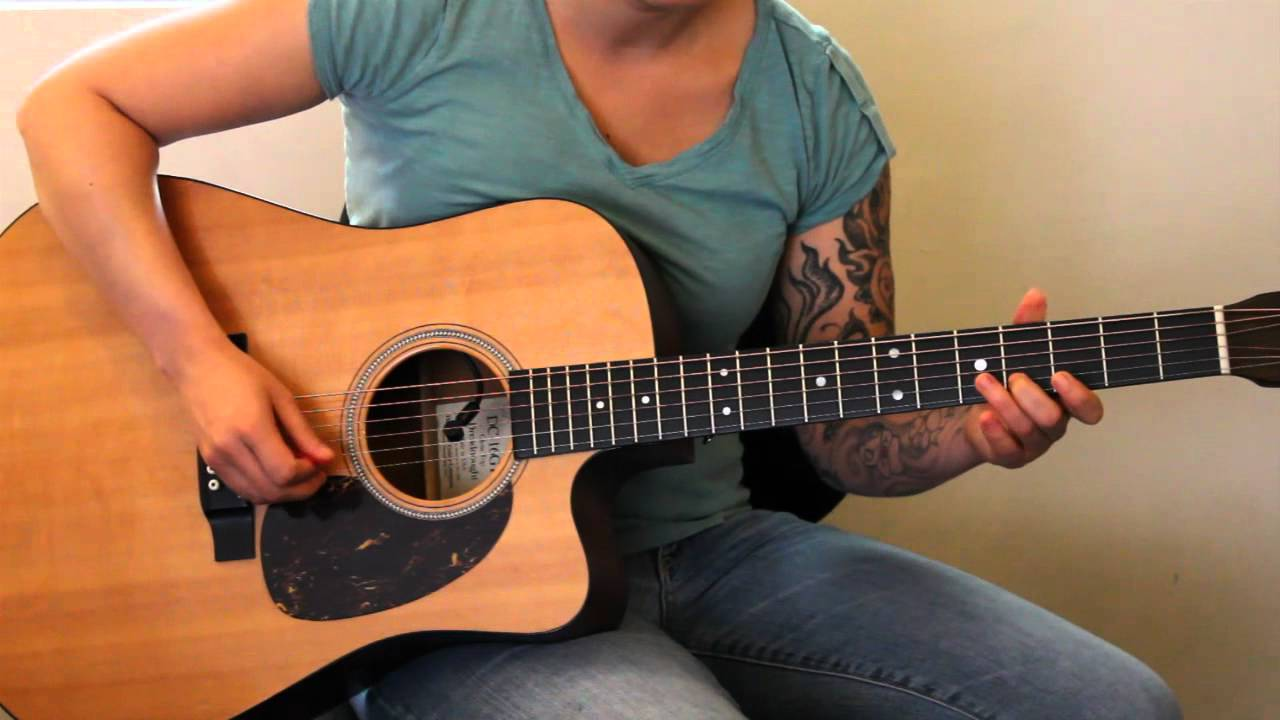 Learn to play guitar scales