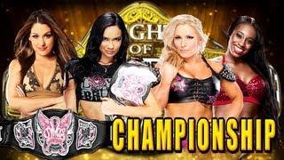 WWE Night Of Champions 2013 AJ Lee Vs Natalya Vs Naomi Vs
