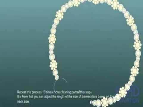 Плетение оригинального ожерелья
