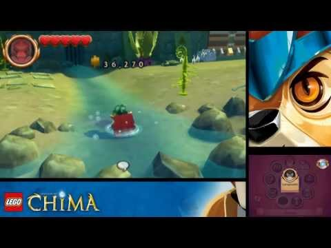 LEGO Legends of Chima: Laval's Journey - Level 1 Spiral Mountain 100% (Character Tokens, Treasures)