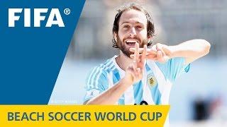 HIGHLIGHTS: Japan v. Argentina - FIFA Beach Soccer World Cup 2015