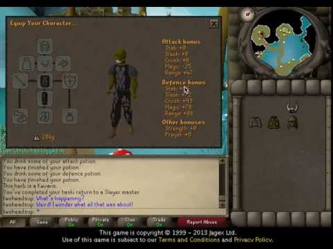 how to unpack a set osrs