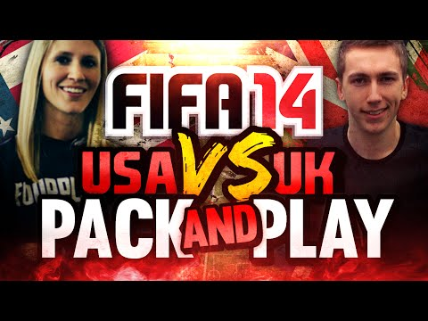 'BEST PULL EVER!' | FIFA 14 | UK VS USA PACK AND PLAY