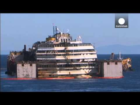 Costa Concordia wreck removal: second stage underway