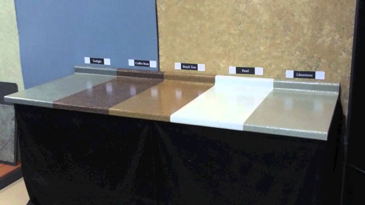 SpreadStone Countertop Refinishing Kit FIVE NEW COLORS YouTube