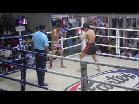 Paksong Tiger Muay Thai vs Thanaded Por Petsiri @ Suwit Stadium 1/3/2013