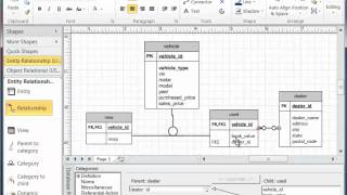 Create er diagram visio 2010 collection of wiring diagram visio subtype supertype modeling youtube rh youtube com draw er diagram visio 2010 visio workflow diagram ccuart