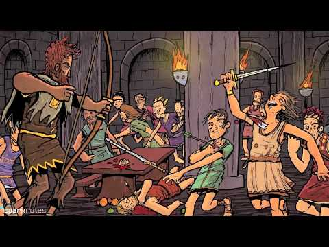 a summary of the odyssey written by homer Struggling with homer's the odyssey check out our thorough summary and analysis of this literary masterpiece.