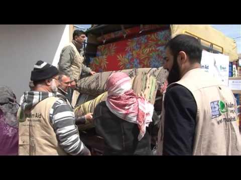 Muslim Aid - Syria 2013