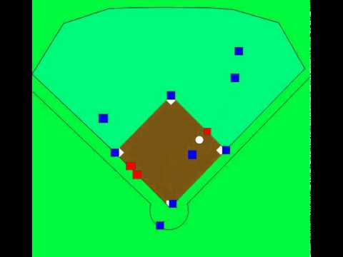 Baseball defensive positioning Cut4 RF