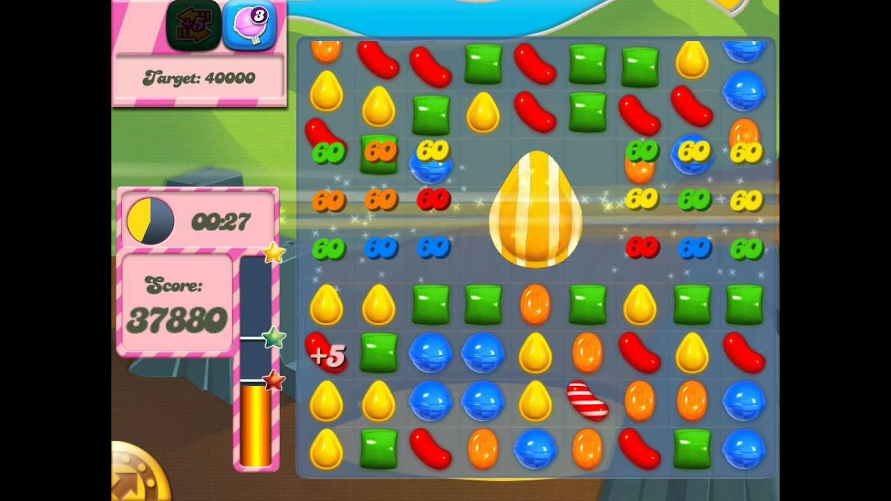 Candy Crush Saga complete guide - Level 27 - YouTube