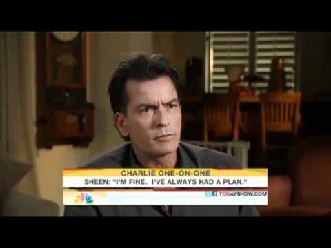 Best of Charlie Sheen (Today Show & Alex Jones radio show) 2011... WINNING!