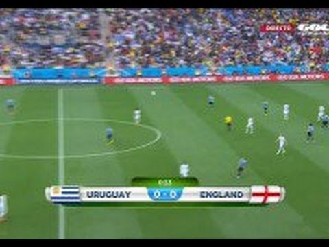 England v Uruguay 1-2 World cup 2014 All goals and Full match highlights