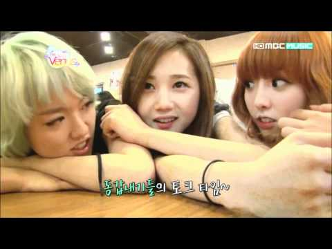 Hello Venus - Lime, Ara, Yoonjo & Alice [FUNNY/CUTE CUT], Show name: Birth of Venus (Episode 1)