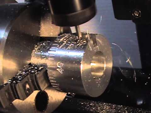 Making Graduated Handwheels with Splines on a CNC 4th Axis Rotary Table