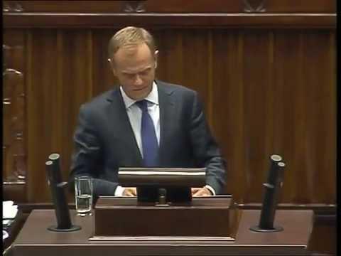 Premier Donald Tusk prostuje kłamstwa PiS  | 09.07.2014