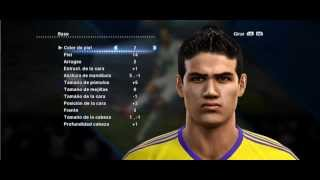 Cara: James Rodriguez PES 2013