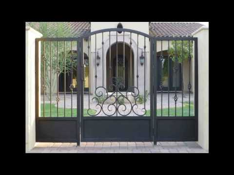 New Iron Gate Designs with Installations