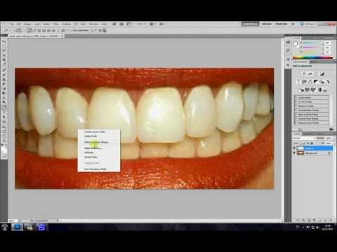 Blanchir les dents avec Photoshop